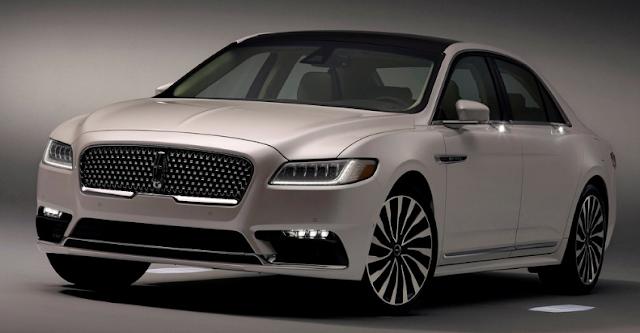 2017 Lincoln Continental Design