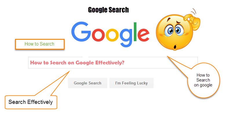 how to search on google effectively