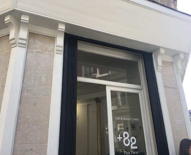 Plus 82 Paris 플러스파리 : Café & Dessert Coréen en plein coeur de Paris !
