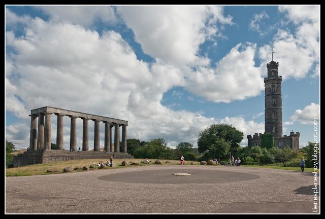 Carlton Hill Edimburgo (Escocia)
