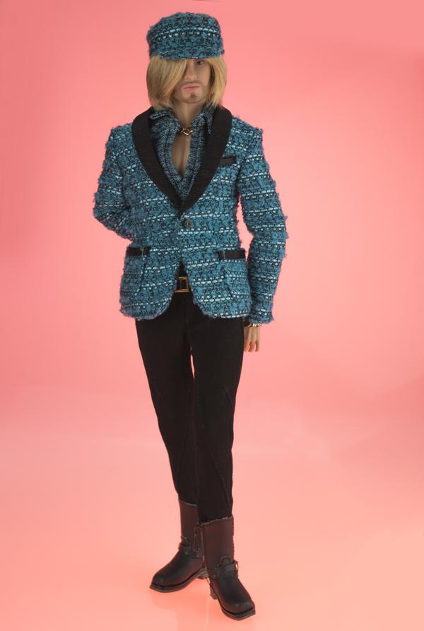 Color Infusion Ace McFly Male Doll - Susans Shop of Dolls