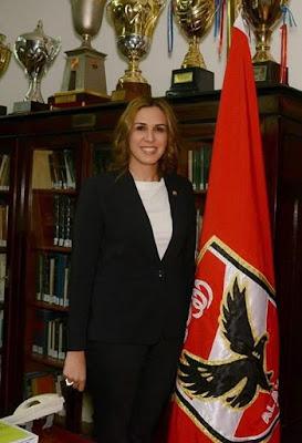 استقالة رانيا علوانى, مجلس ادارة الاهلى, مواقع التواصل الاجتماعى, الطبيبة الشهيرة, بيان رسمى,