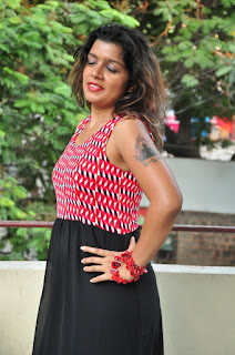 Actress Loukya Stills At 7 to 4 Movie Release Press Meet 0013