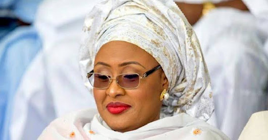 AISHA BUHARI, WIFE OF PRESIDENT BUHARI CONDEMNS APC PRIMARIES, ASKS PEOPLE TO VOTE WISELY