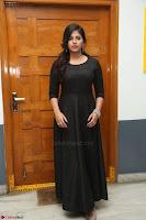 Anjali in Black Short Dress at Chitrangada Movie Success Meet ~  030.JPG