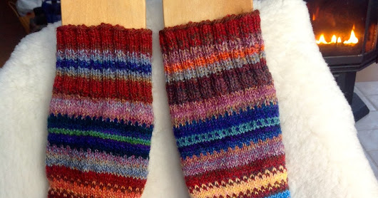 2nd pair handspun socks