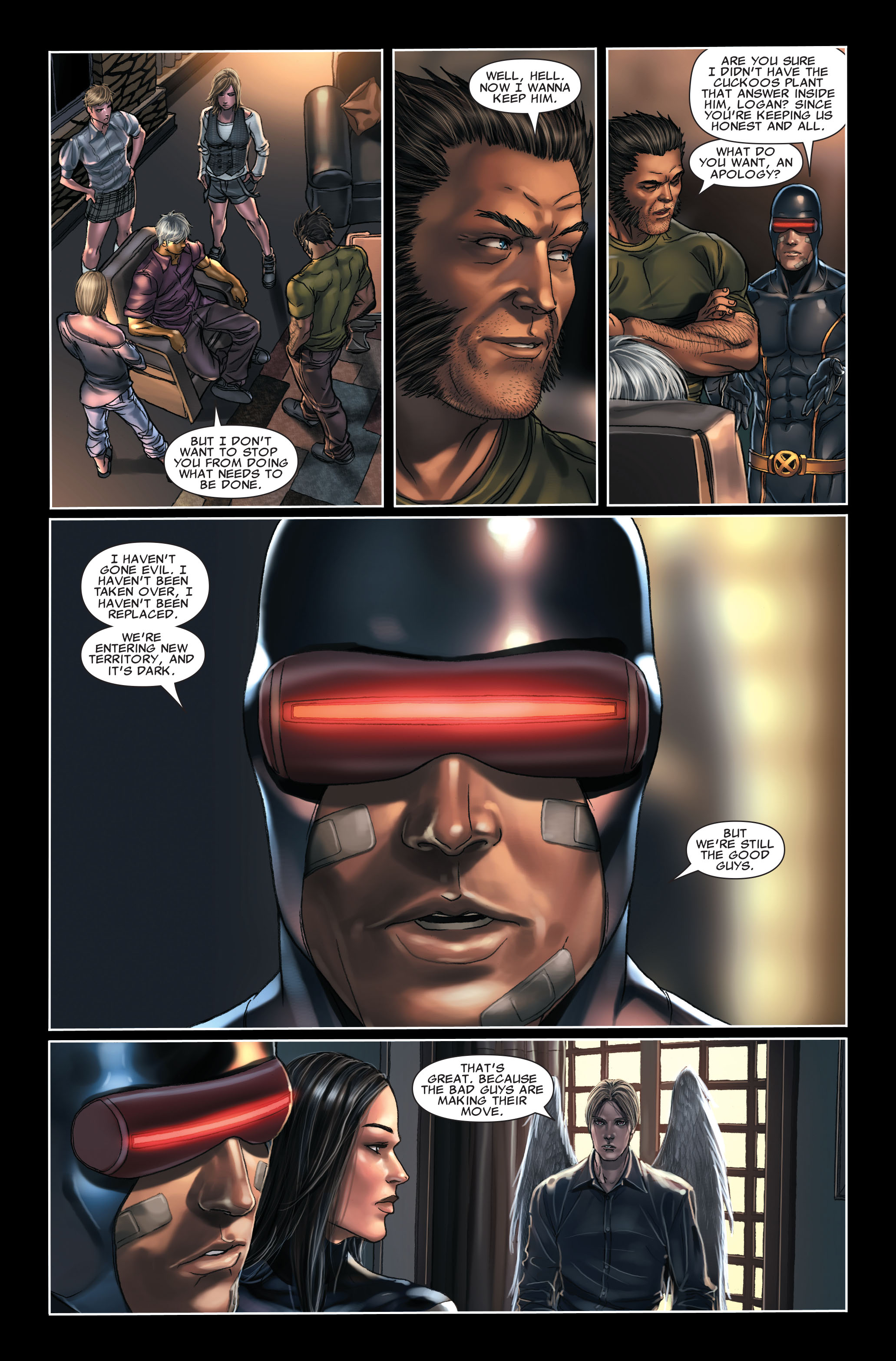 Read online X-Force (2008) comic -  Issue #7 - 17