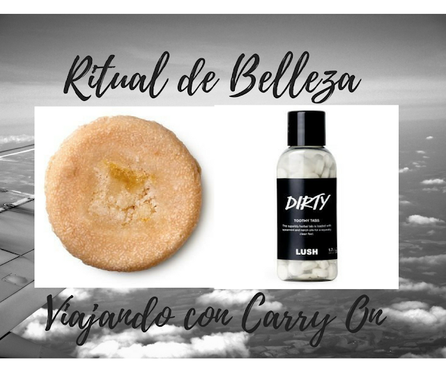 Como Mantener un Ritual de Belleza Viajando con Carry On