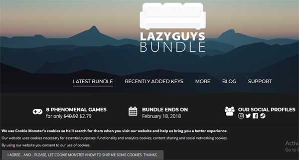 Lazy Guys Bundle: Sites Like Humble bundle: eAskme