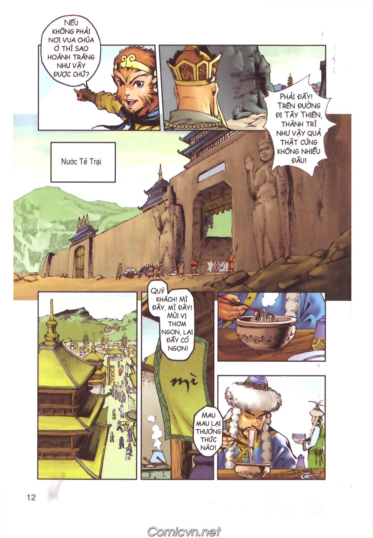 Tây Du Ký màu - Chapter 110 - Pic 10