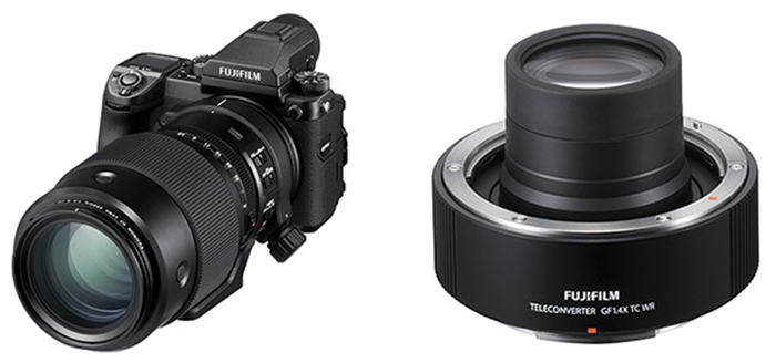 Объектив Fujinon GF 250mm f/4 и телеконвертер GF 1.4x