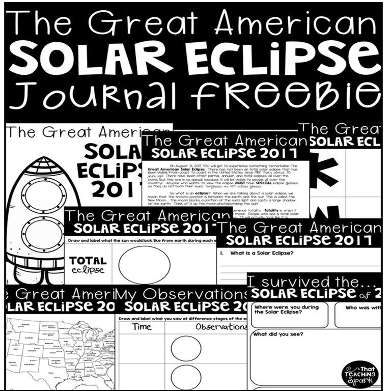 total partial and annular solar eclipse graphic organizer comprehension page color the us map for totality solar eclipse observation page memory page