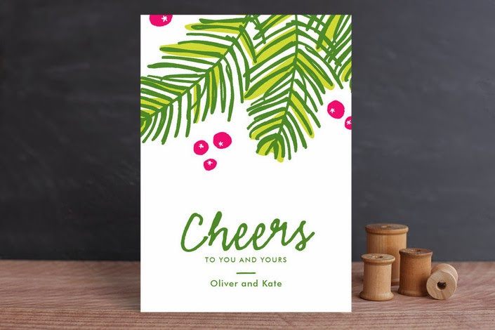Pretty Holiday Greeting Cards from Minted | Southern Belle