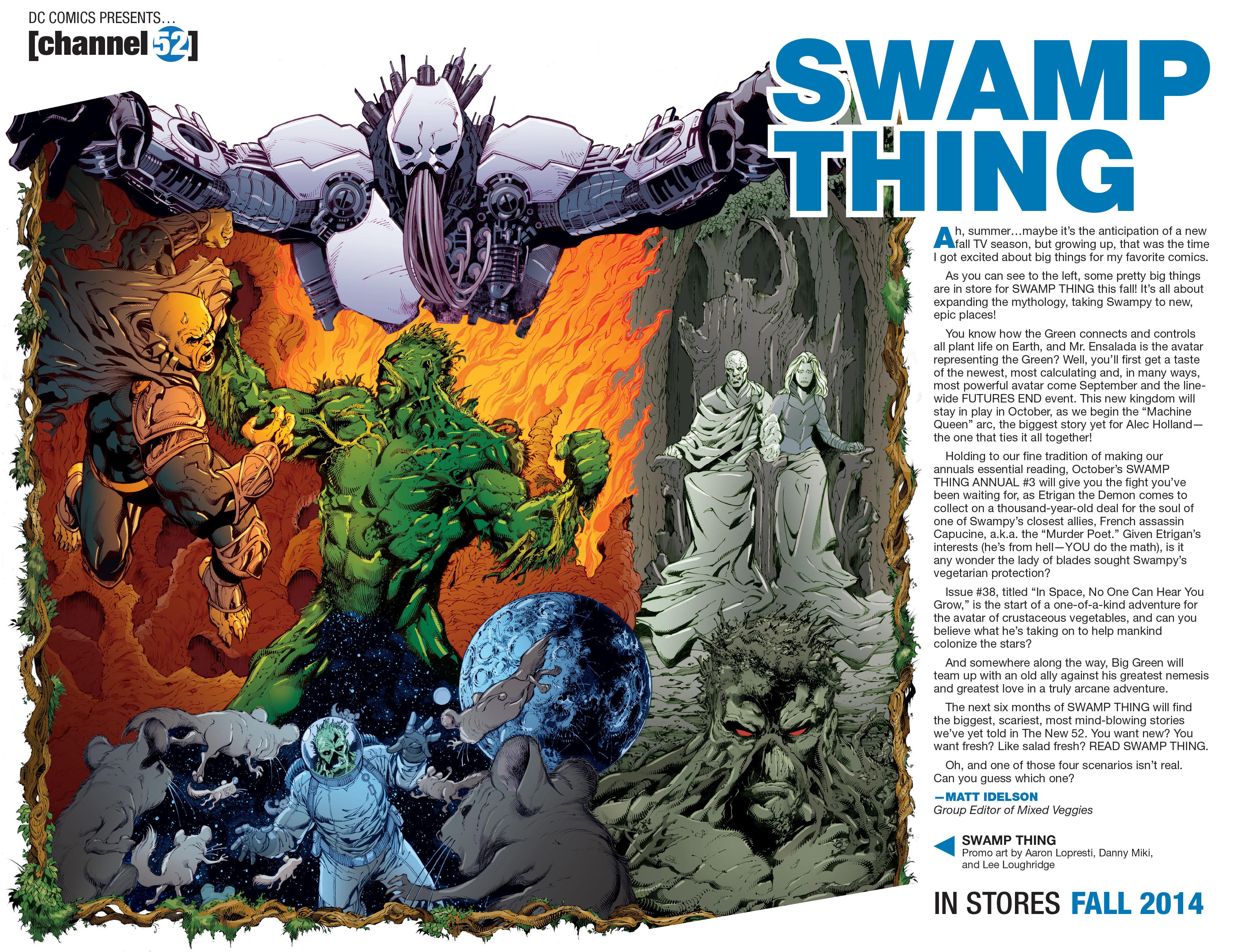 Read online Aquaman (2011) comic -  Issue #33 - 22