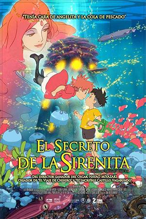 Ponyo Y El Secreto De La Sirenita [Dual Audio] [HD] [Mega]