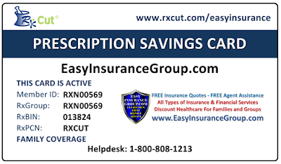 FREE Discount Prescription (Rx) Cards - EasyInsuranceGroup.com