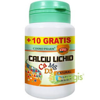 Cumpara de aici tablete ce contin Calciu Magneziu Vitamina D3