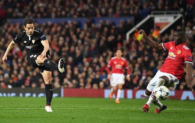 Cuplikan Pertandingan: Manchester United 1-2 Sevila Tadi Malam (Liga Champions)