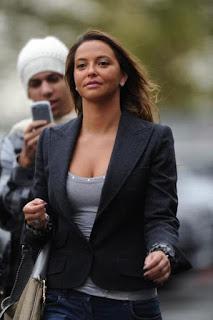 Nani's wife Daniela Martins