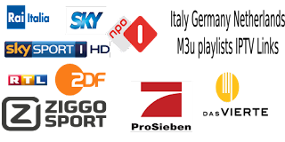 Germany NL Italy Alb Sweden viasat RTL FOX