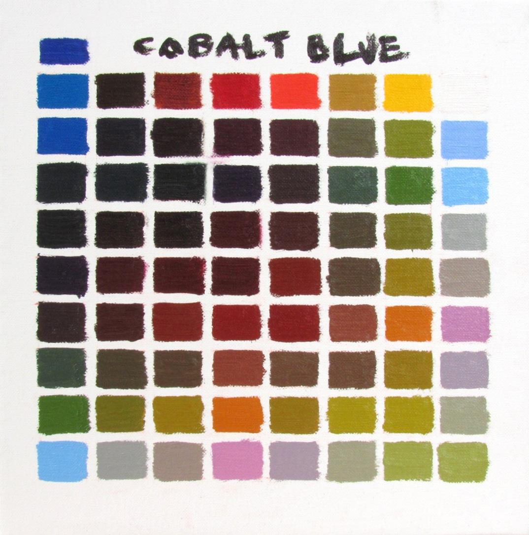 Oscar arroyo yellow ochre cobalt blue - What colour goes with lilac ...