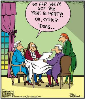 Mystery Fanfare Cartoon Of The Day Declaration Of