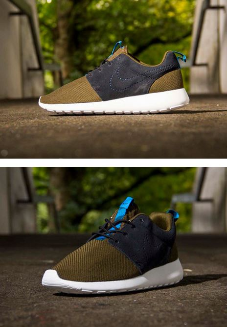 "Here is a look via Titolo of the Nike Roshe Run ""Two-toned Suede"" Sneaker  Pack releasing in October 834bac89e3f5"
