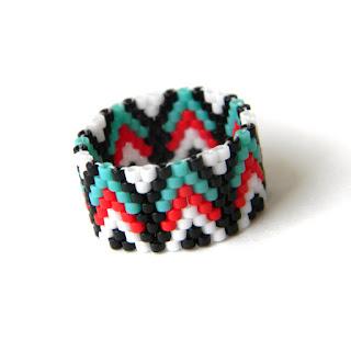купить женские кольца в стиле этно украшения из бисера интернет магазин