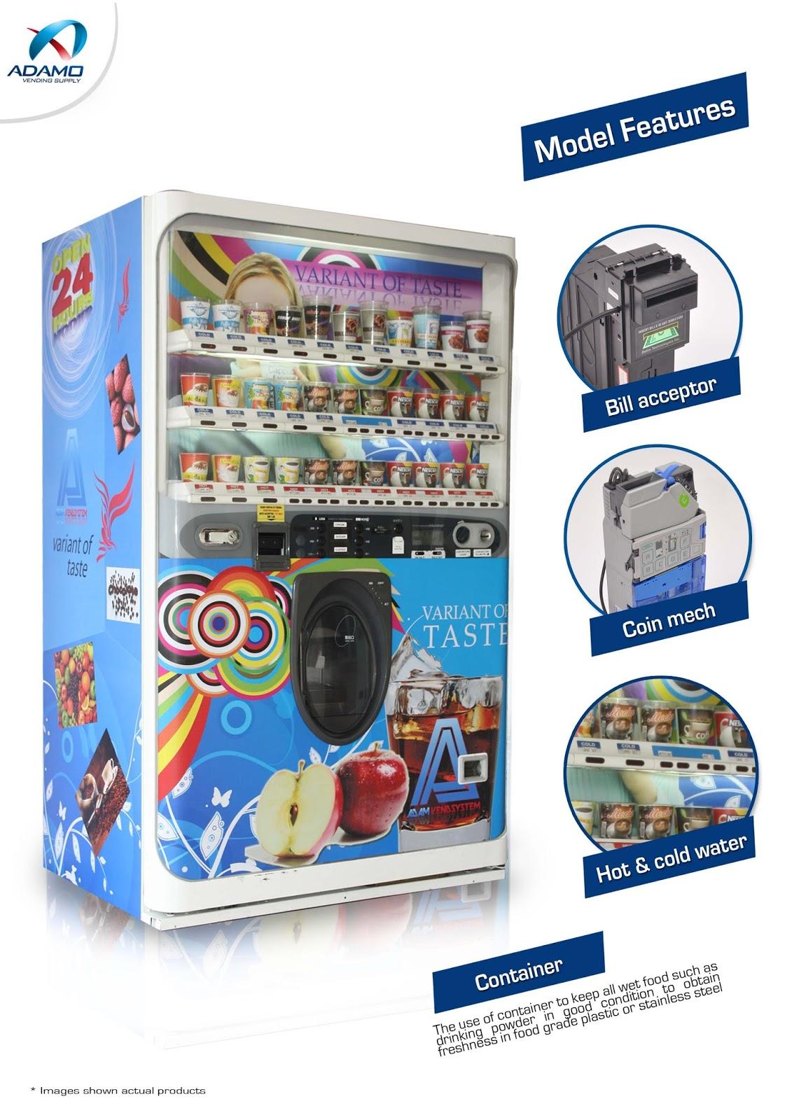 Cup Vending Machine Vending Machines Expert