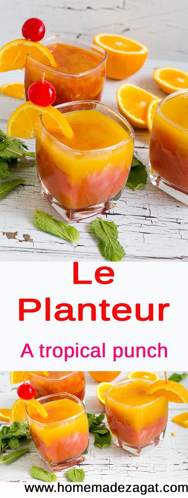 Recipe for Le Planteur