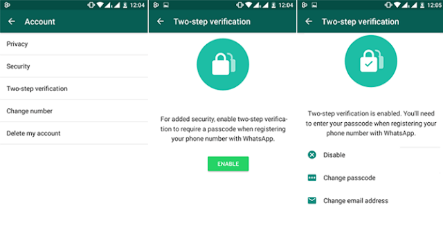 How to Applying Two Step Verification on Whatsapp Application