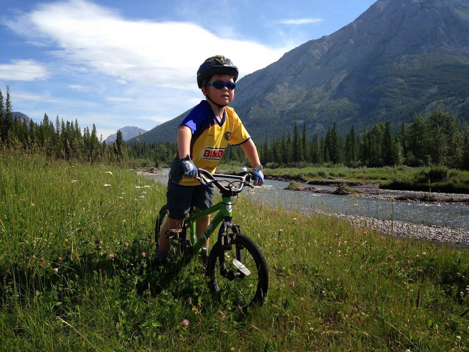 Family Adventures in the Canadian Rockies: The Best Family Bike