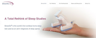 BresoTec Develop Innovative Device To Diagnose Sleep Apnea At Home