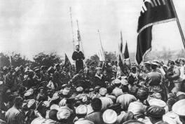 marinos de la Flota del Báltico 1917