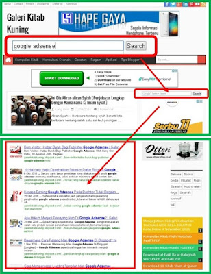 contoh iklan google adsense for search
