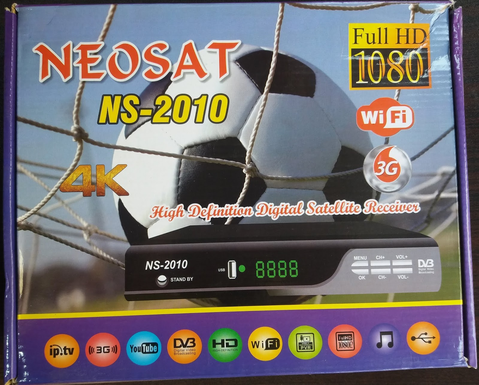 All Dish Receiver Software: NEOSAT NS-2010 HD RECEIVER AUTO