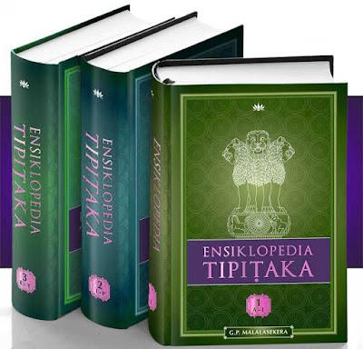 Foto Kitab Tripitaka agama Buddha