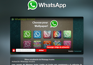 whatsapp arcoiris