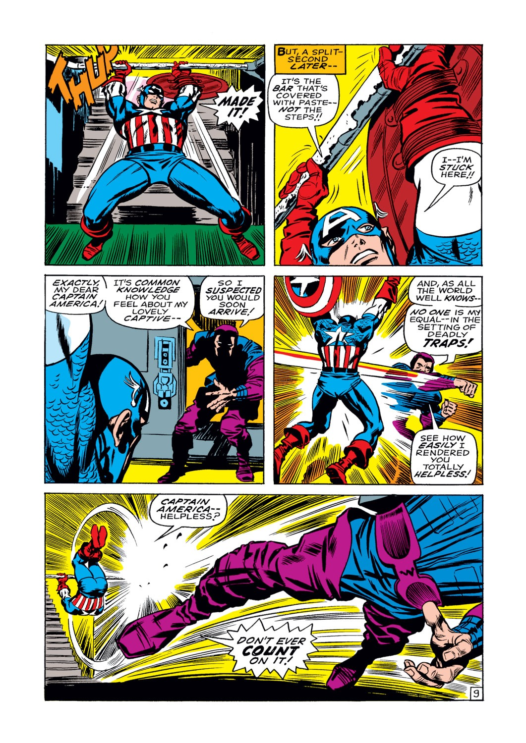 Captain America (1968) Issue #108 #22 - English 10