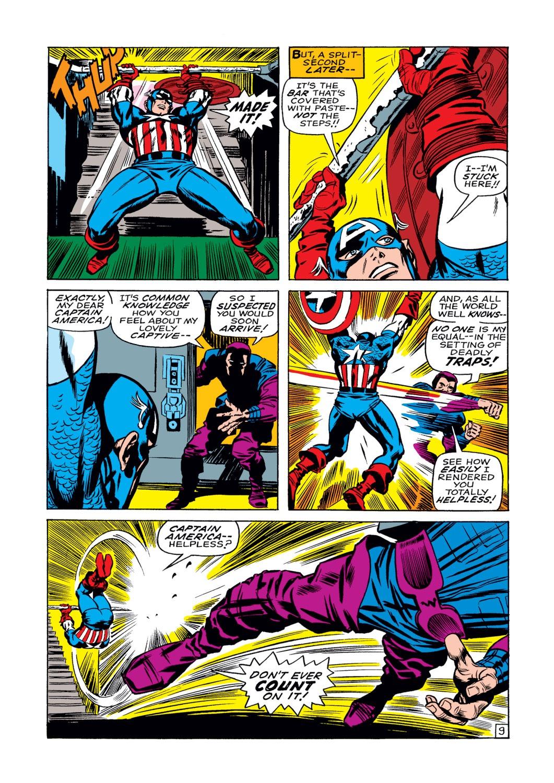Read online Captain America (1968) comic -  Issue #108 - 10