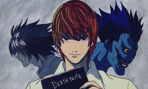 50 Top Anime Terbaik Sepanjang Masa Death Note Karya Sugumi Ohba No.1