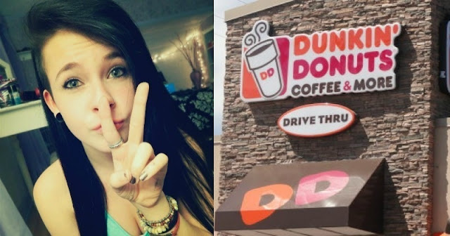 Casey bertemu pria gelandangan di Dunkin Donuts (Facebook/Casey Fischer)