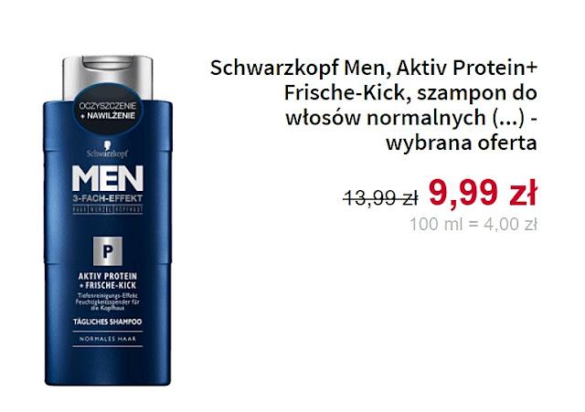 Schwarzkopf Men, szampon do włosów normalnych