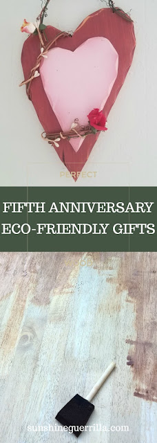 Perfect fifth anniversary eco-friendly wood gift ideas
