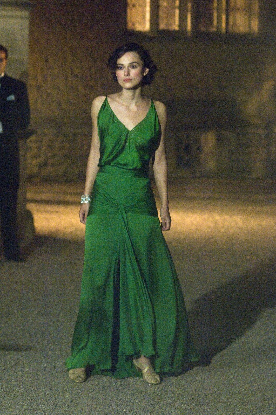 Keira Knightley Atonement Green