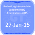 Rechecking Intermediate Supplementary Examinations 2015