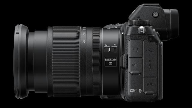 Nikon Z bagian kiri
