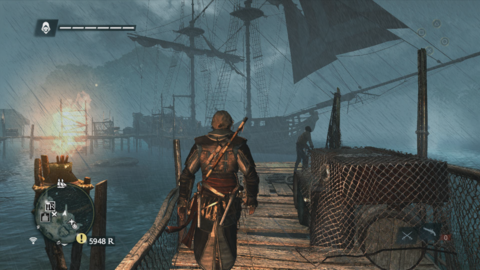 Assassin's Creed 4 Black Flag Playing game