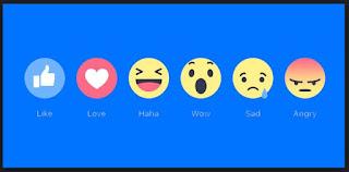 fitur like facebook baru