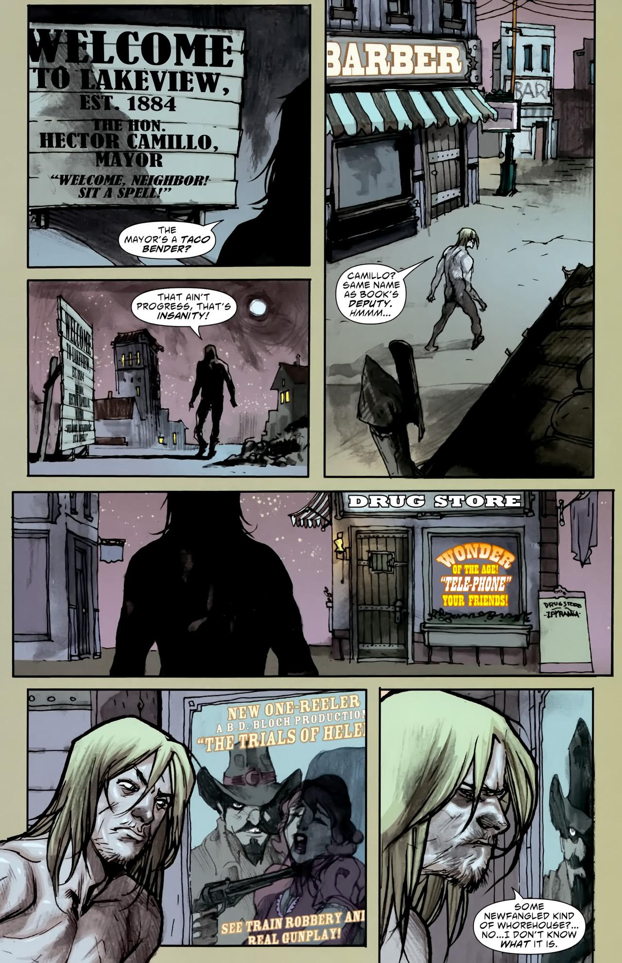 Read online American Vampire comic -  Issue #3 - 21